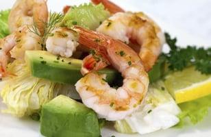 Photo Recette Salade d'Avocat et de Crevettes