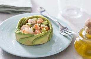 Photo Recette Salade D'avocat et Crevettes