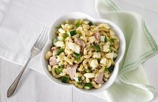 Photo Recette Salade de Macaroni au Thon et au Cheddar