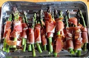 Photo Recette Asperge au Prosciutto Grillé et Parmesan sur le Barbecue