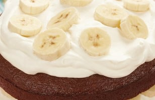 Photo Recette BANANA CREAM GINGERBREAD
