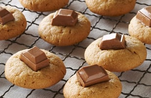Photo Recette Biscuits au Beurre D'arachide et au Chocolat