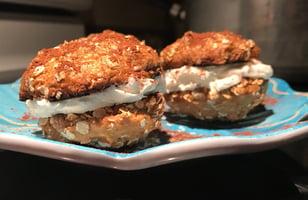 Photo Recette Biscuits à L'Avoine et Glaçage au Fromage à la Crème