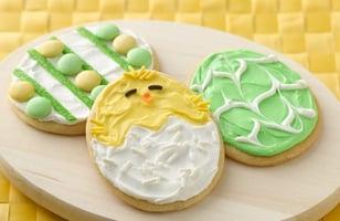 Photo Recette Biscuits Oeuf de Pâques