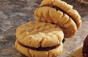 Photo Recette Biscuits Sandwichs au Beurre D'arachide