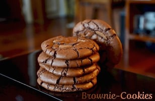 Photo Recette Brownie-Cookies