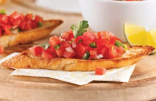 Photo Recette Bruschettas au Pico de Gallo