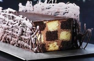 Photo Recette Buche Vanille et Chocolat, Crème Onctueuse au Chocolat