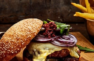 Photo Recette Burger Rustique au Mont D'or