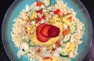 Photo Recette Couscous Rafraichissant avec des Fruits