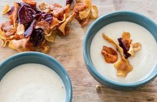 Photo Recette Crème de Chou-fleur aux Chips de Laura Annaert