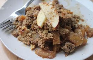 Photo Recette Croustillant aux Pommes, Poires et Flocons de Sarrasin