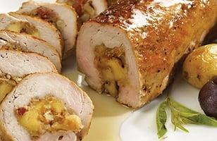 Photo Recette Filet de porc farci au fromage Gouda