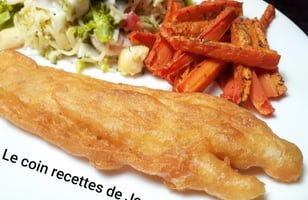 Photo Recette FISH AND CHIPS TRADITIONNEL