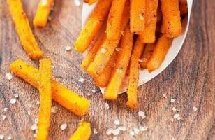 Photo Recette Frites de Patates Douces