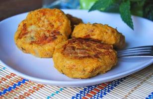 Photo Recette Galettes de Patate Douce et Lentilles Corail