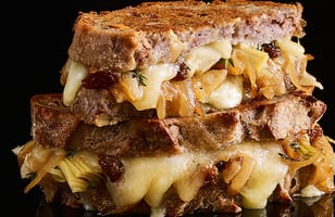 Photo Recette Grilled Cheese Hivernal