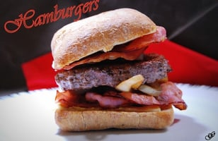 Photo Recette Hamburgers Boeuf Oignon Bacon Emmental