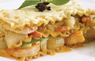 Photo Recette Lasagne Thaï aux Fruits de Mer