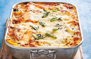 Photo Recette Lasagne Végé aux Épinards et aux Patates Douces