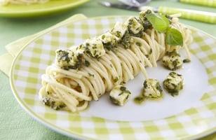 Photo Recette Mon Pesto Kiri® et ses Spaghettis
