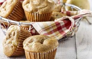 Photo Recette Muffins aux Poires Épicés