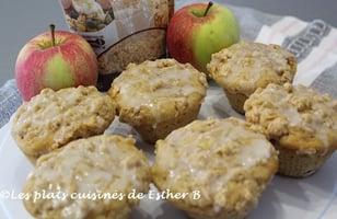 Photo Recette Muffins aux Pommes, Glaçage à la Vanille