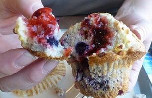 Photo Recette Muffins Explosion de Fruits style Tim Horton