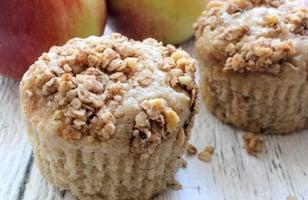Photo Recette Muffins Façon Croustade aux Pommes