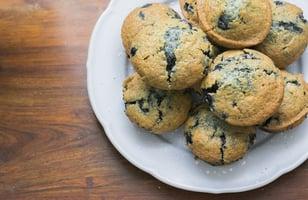 Photo Recette Muffins Santé aux Bleuets