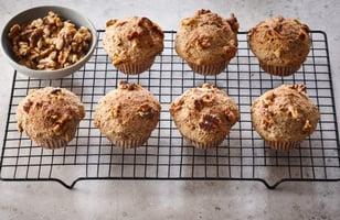 Photo Recette Muffins Végétaliens à L'érable