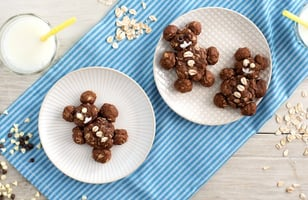 Photo Recette Ours en Biscuit au Chocolat