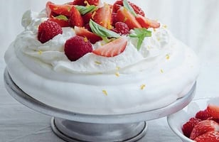 Photo Recette Pavlova aux Fruits Rouges