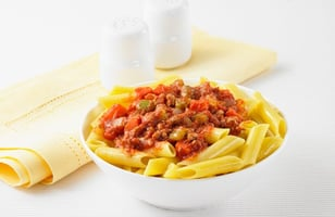 Photo Recette Catelli® Sans Gluten Penne à la Dinde Bolognaise