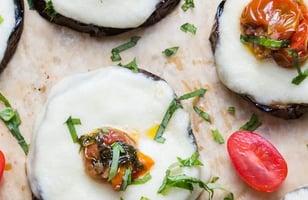 Photo Recette Pizza à L'aubergine Grillée