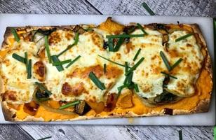Photo Recette Pizza aux Légumes sur Patates Douces