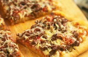 Photo Recette Pizza Bolognaise