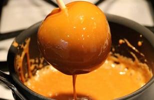 Photo Recette Pommes aux Caramel pour les Enfants