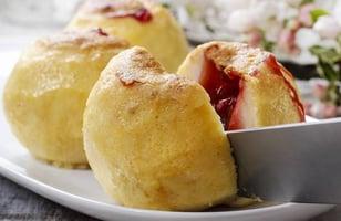 Photo Recette Pommes Surprises à la Gelée de Fraise