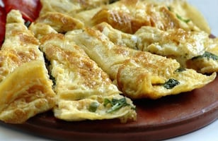 Photo Recette Omelette aux Épinards