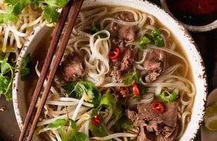 Photo Recette Pho Traditionnelle Vietnamienne, Facile