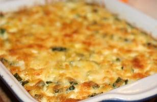Photo Recette Gratin de Courgettes au Parmesan
