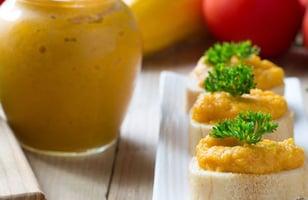 Photo Recette Rillettes de Carottes Poivron et Cumin sur Toast