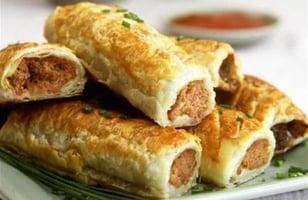 Photo Recette Roulés de Pâte Feuilletée Farcis à la Viande Hachée, Australie