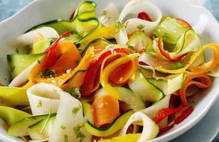 Photo Recette Rubans de Légumes Vapeur au Sel de Guérande