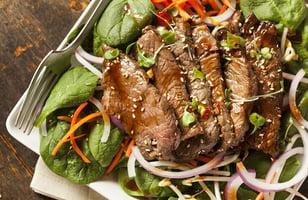 Photo Recette Salade à L'italienne avec Bavette de Bœuf