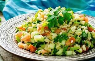 Photo Recette Salade de Blé Veggie Complète Façon Taboulé