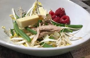 Photo Recette Salade de Fèves Germées Santé