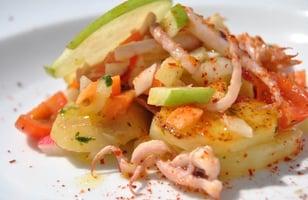 Photo Recette Salade de Pommes de Terre aux Encornets