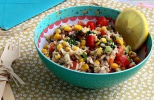 Photo Recette Salade de Riz Céréales Anciennes et Maïs